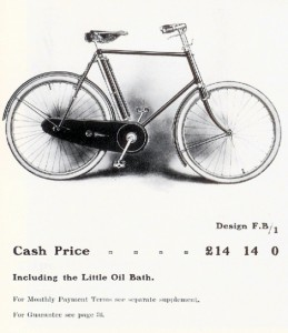 1906 Sunbeam bicycle
