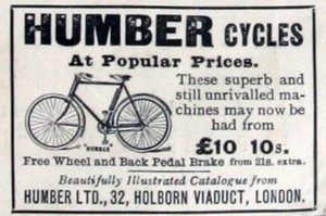 Humber bicycle