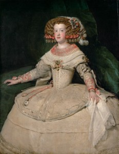 Diego Velázquez - Portrait of the Infanta Maria Theresa