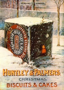 Huntley & Palmers Biscuits advertisement