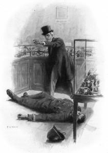 I've knocked him out - I've knocked him out! Illustration by F. C. Yohn