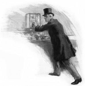 Nor did they hear the dull crash. Illustration by F. C. Yohn