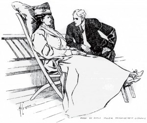 There was A. J. Raffles. Illustration by Hy Leonard