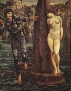 The Rock of Doom - Edward Burne-Jones